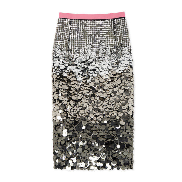 No. 21 Sequined Pencil Skirt