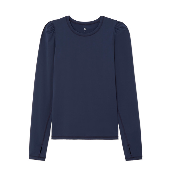G. Sport Long-Sleeve Puff Tee