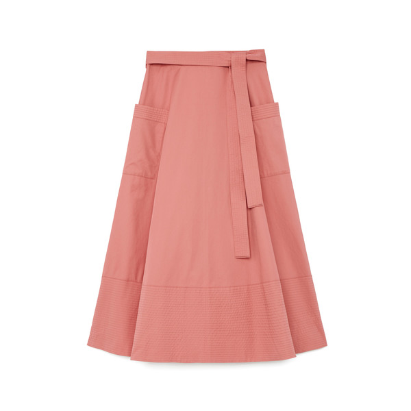 Co Sateen Pink Skirt
