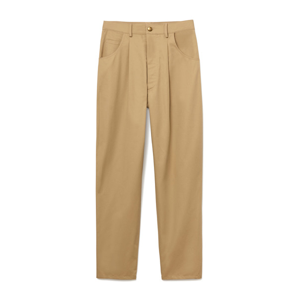 Harvey Faircloth High-Waist Pleated Pants