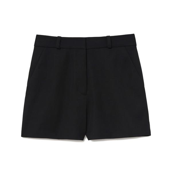 Stella McCartney Black Trouser Shorts