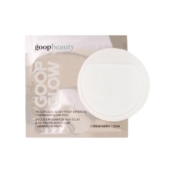 GOOP BEAUTY GOOPGLOW 15% Glycolic Acid Overnight Glow Peel - 4-Pack