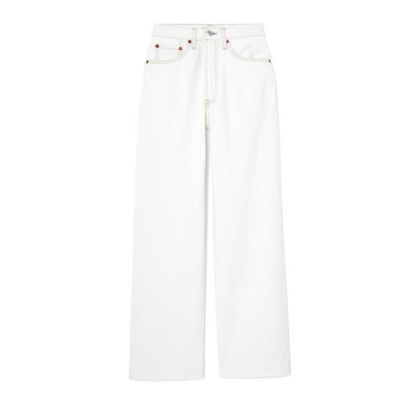 RE/DONE Wide-Leg Crop Jeans