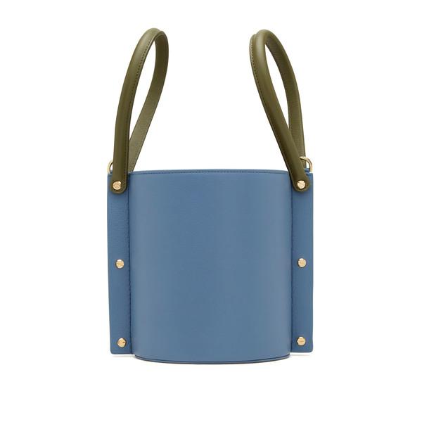 Yuzefi Cubo Leather Bucket Bag
