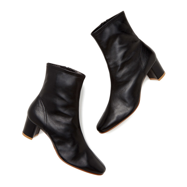 BY FAR Shoes Sofia Black Leather Boots