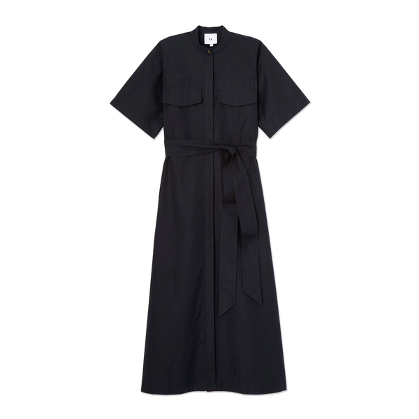 G. Label Burke Wide-Sleeve Shirtdress