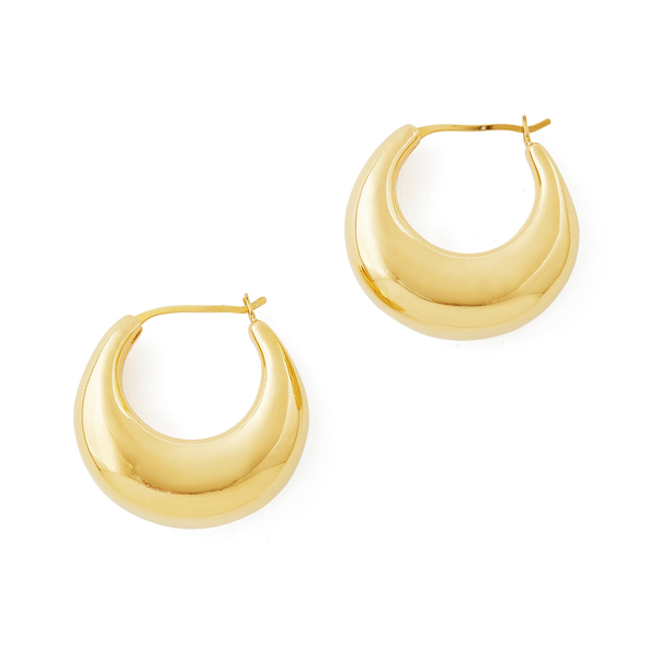 Sophie Buhai Gold Classic Cowbell Hoops