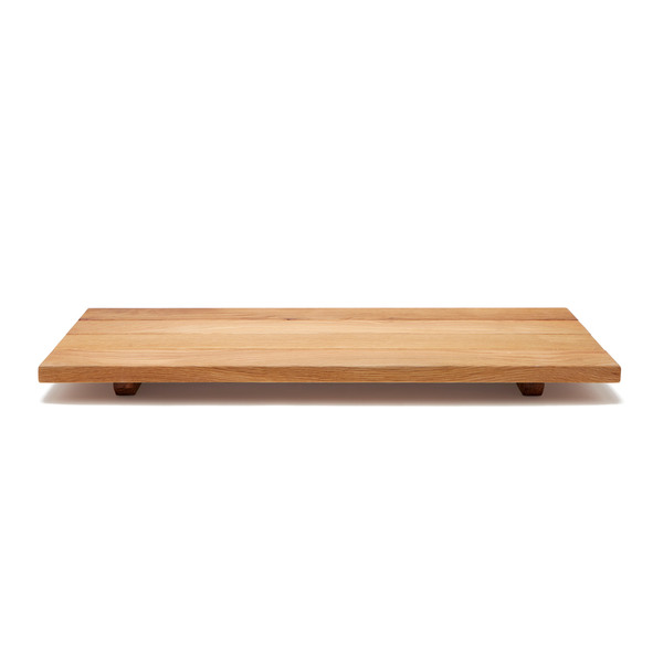 PEG AND AWL Oak Bathtub Caddy