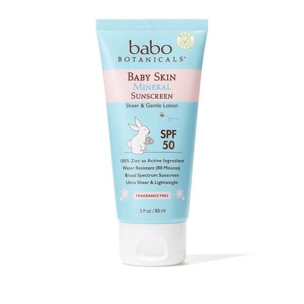 BABO BOTANICALS Baby Skin Mineral Sunscreen - SPF 50