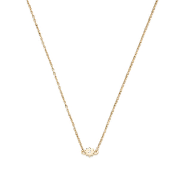 Bondeye Jewelry Burst 14K Yellow-Gold Necklace
