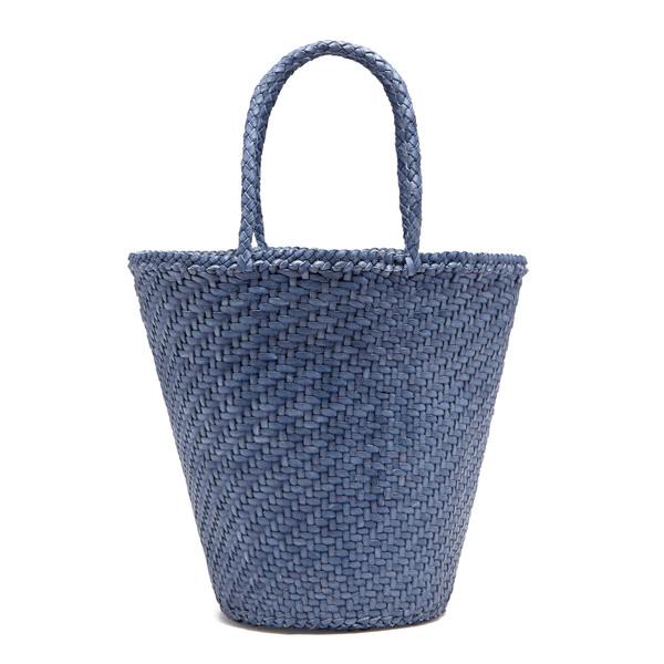 Dragon Diffusion Myra Basket Hand-Woven Leather Tote