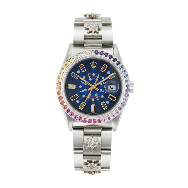 Rolex x Colette 36MM Datejust Galaxy Rolex Watch