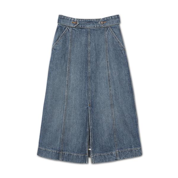 G. Label Greer A-Line Mid-Length Skirt