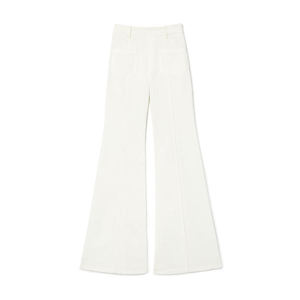 Chloé High-Rise Flare Denim Pants