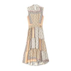 Long Bandana Print Dress