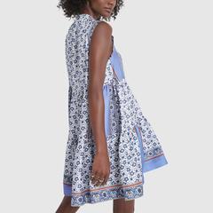 Short Bandana Print Dress