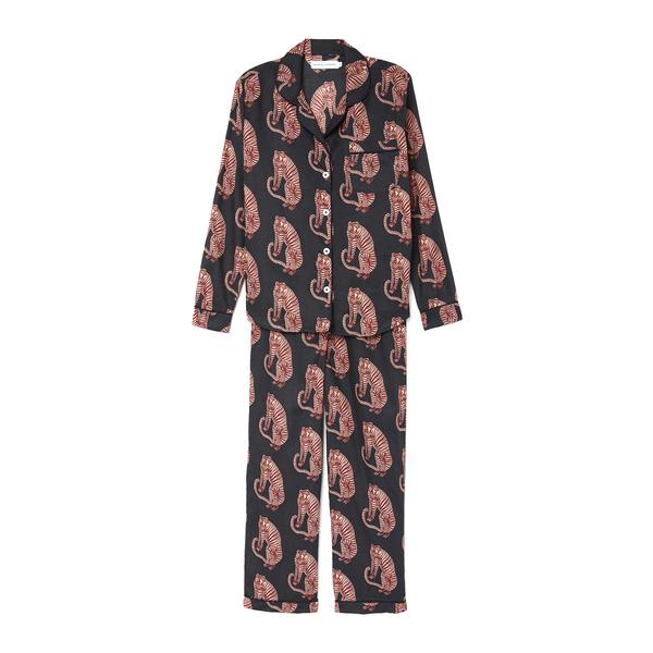Desmond and Dempsey Long Printed Pajama Set