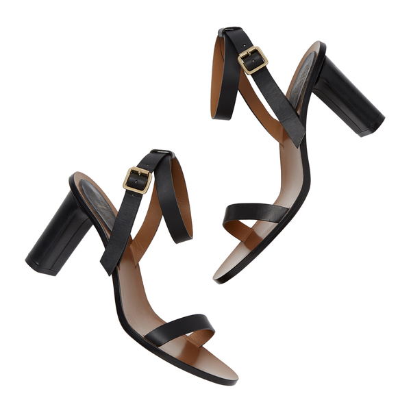 ATP Atelier Soave Black Leather Heels