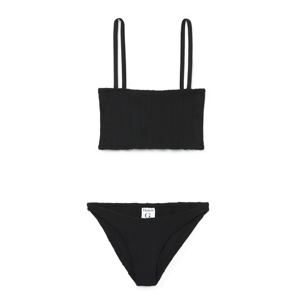 Hunza G Gigi Nile Black Bikini