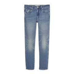 Kate Mid Rise Slim Straight Jeans