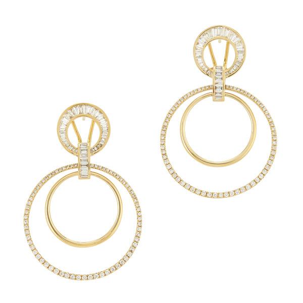 Shay Jewelry Mixed Diamond Doorknockers