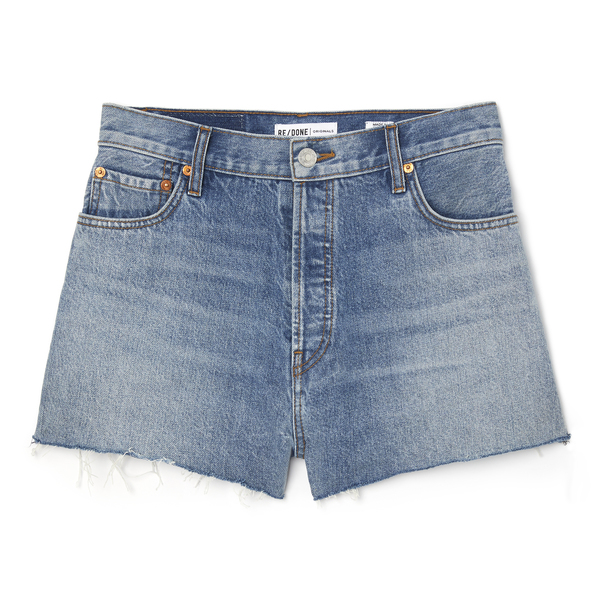 RE/DONE High-Rise Shorts