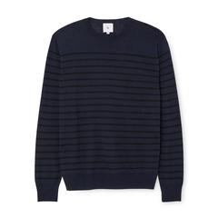Tony Striped Linen Sweater