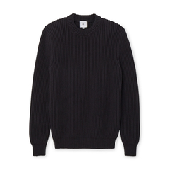 Mike Ribbed Boat Sweater