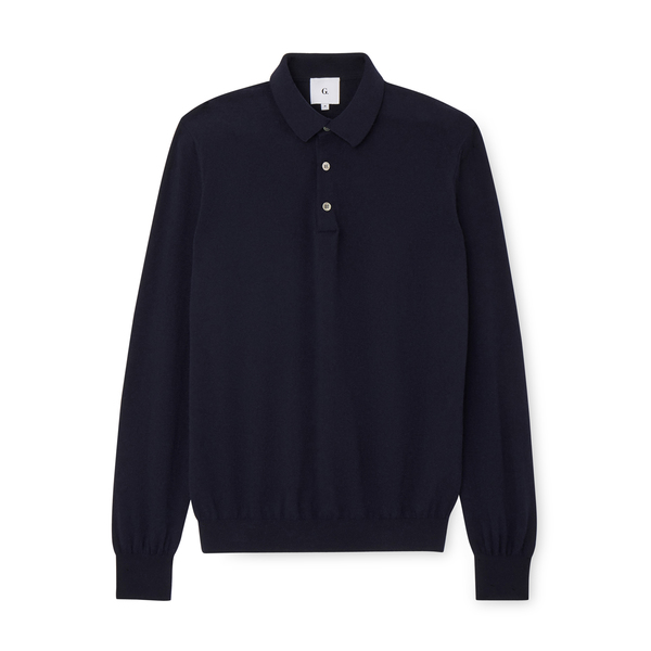 G. Label Jake Cashmere Polo Sweater