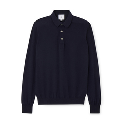 Jake Cashmere Polo Sweater