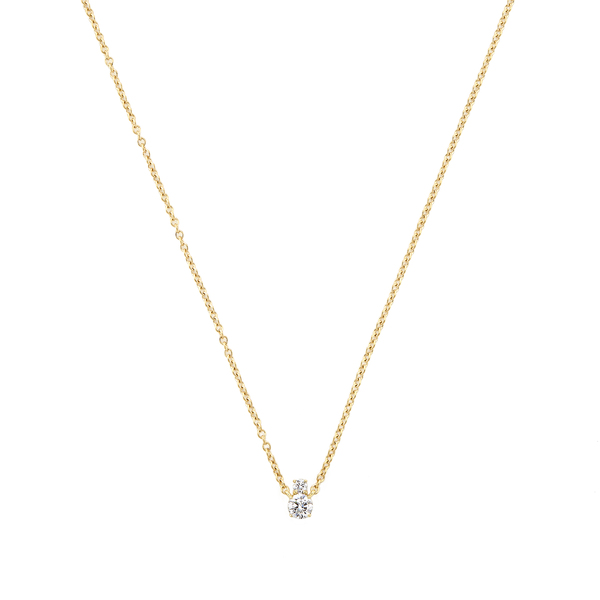 Jemma Wynne Diamond Solitaire Necklace