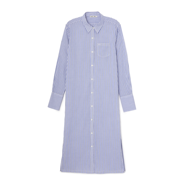 Alex Mill Striped Standard Maxi Shirt Dress
