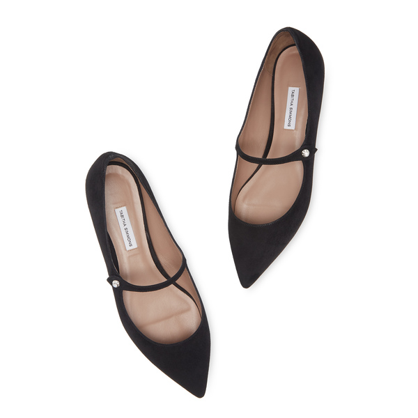Tabitha Simmons Hermione Suede Flats