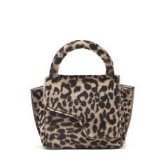 Montalcino Leopard Fur Handbag