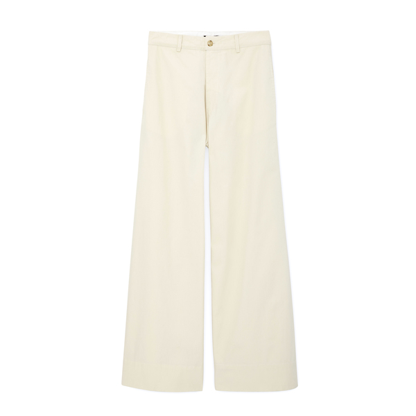 Bassike Canvas Wide Leg Pant