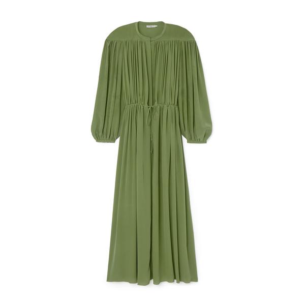 Three Graces Silk Crepe de Chine Julienne Dress