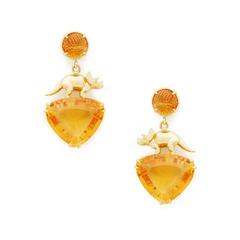 Yellow-Gold Abundance Earrings