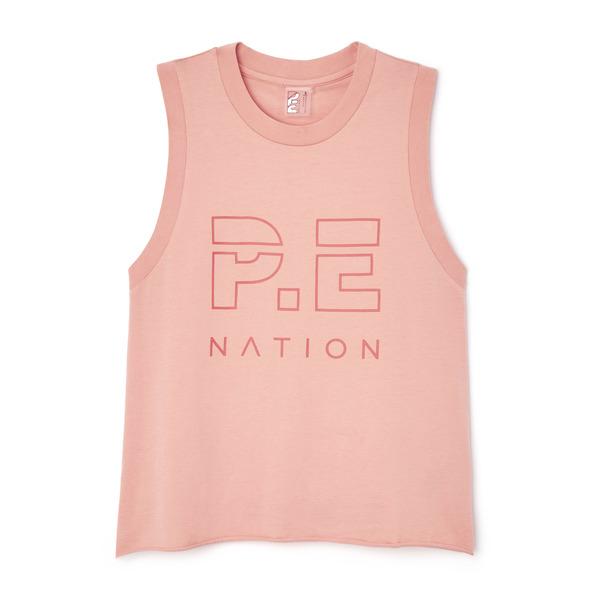 P.E. Nation Shuffle Tank Top