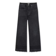 Sacha High-Rise Wide-Leg Jeans