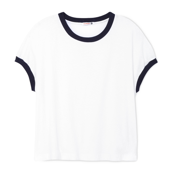 Sundry Colorblock Square Tee