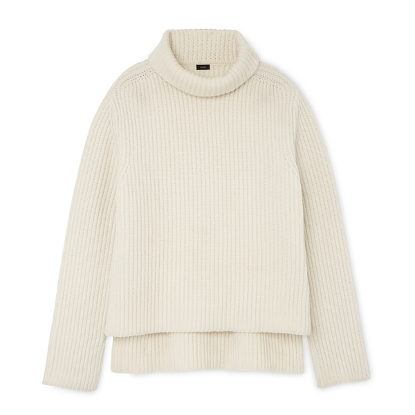 Joseph High Neck Long Sleeve Sweater