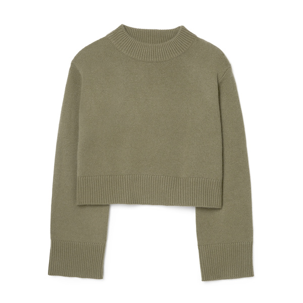 Co Boxy Crew-Neck Cashmere Sweater