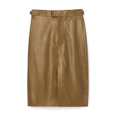 Leather Flora Skirt
