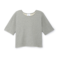 Cropped Tunnel-Sleeve Top