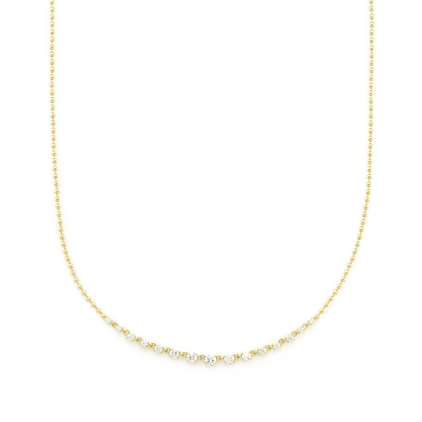 Jemma Wynne Graduate Diamond Necklace
