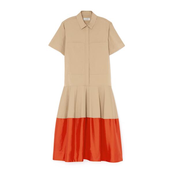 Lee Mathews Elsie Short Sleeve Shirtdress