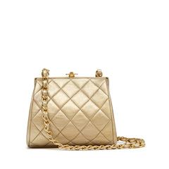 Chanel Gold Lambskin Mini Bag