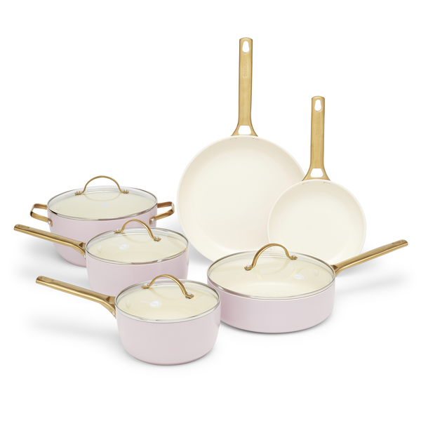 goop x GreenPan Blush Padova 10-Piece Set