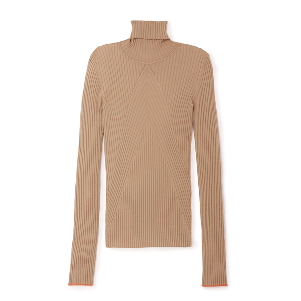 Victoria Beckham Slim Polo Knit Top