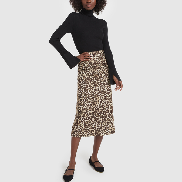 NO. 6 Sylvia Leopard Skirt